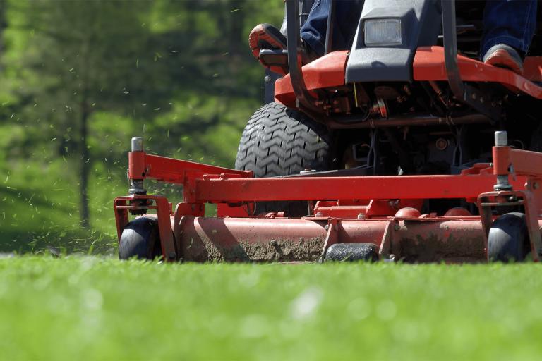Lawn Mower Landscape Maintenance