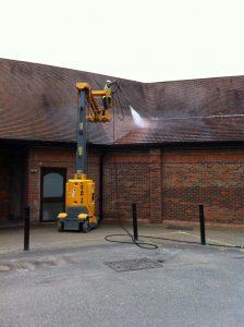 Jet Washing Roof