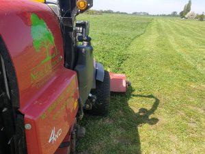 Cutting Paddock Grass